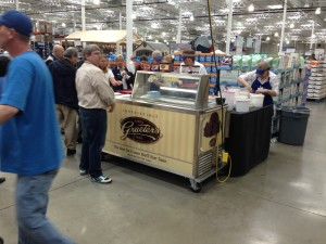 Graeter's sampling at Costco, Columbus (Polaris Mall), Ohio location