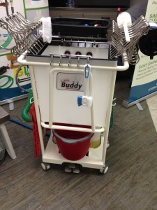 Little Buddy cleaning cart by Idea Boxx