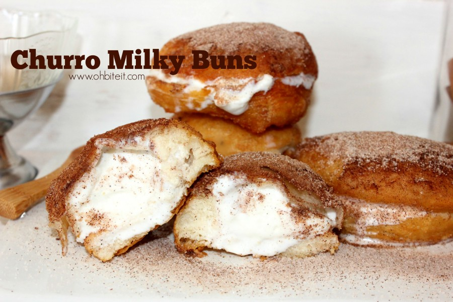 How to make ice cream stuffed churro donuts george dunlap is a simple concept where ice cream fills the crevice of a nice warm donut combine that idea with a churro and youve got something extra special ccuart Gallery