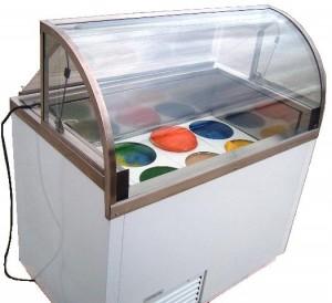 Traditional 3 gallon ice cream tubs