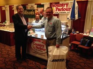 Country Parlour Ice Cream Top Vendor Award