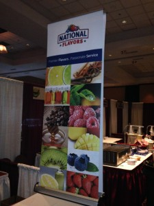 National Flavors booth