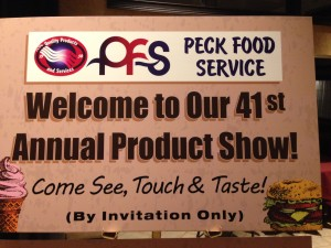 Welcome Peck 2015 Annual Product Show