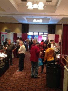 Day 2 another busy day at the  Peck 2015 Food Show