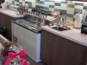 C Nelson, Model BD8JR, Flavor Rail Freezer, Milk Shake Prep Freezer Cabinet